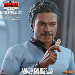 Hot Toys MMS588 Star Wars: The Empire Strikes Back Lando Calrissian (40th Anniversary)
