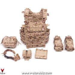 E&S 26030B PSD Surveillance Chief AOR1 Aero Armor Carrier & Pouches