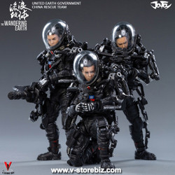 JOYTOY JT0388 The Wandering Earth: United Earth Government China Rescue Team