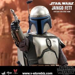 Hot Toys MMS589 Star Wars Episode II: Attack of the Clones Jango Fett