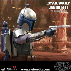 Hot Toys MMS589 Star Wars Episode II: Attack of the Clones Jango Fett