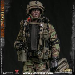 DAM 78082 Marine Corps Gunnery Sgt. Crews, Urban Warfare Exercises