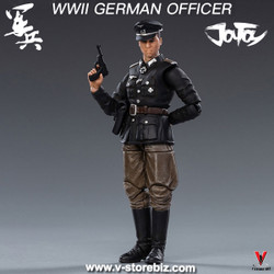 JOYTOY WWII Wehrmacht Officer & Soldiers (Spring & Autumn Camouflage)