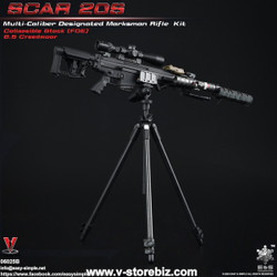 E&S 06025B SCAR 20S Multi Caliber DMR Kit (Black)