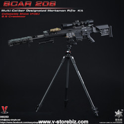 E&S 06025D SCAR 20S Multi Caliber DMR Kit (Black)