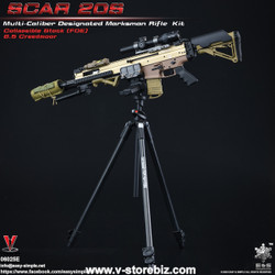 E&S 06025E SCAR 20S Multi Caliber DMR Kit (Tan)
