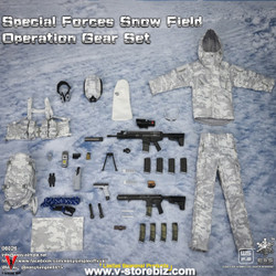 E&S 06026 Special Forces Snow Field Operation Gear Set