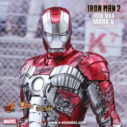 Hot Toys MMS400D18 Iron Man 2 Iron Man Mark V