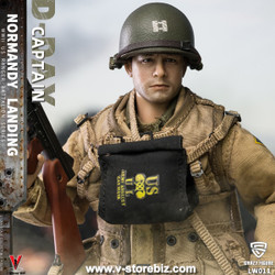 Crazy Figure LW011 WWII U.S. Rangers On D-Day Captain