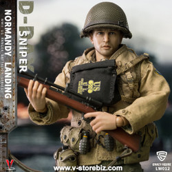 Crazy Figure LW012 WWII U.S. Rangers On D-Day Sniper