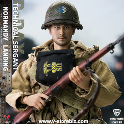 Crazy Figure LW011 WWII U.S. Rangers On D-Day Technical Sergeant