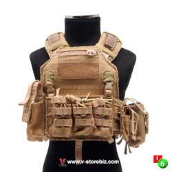 "Flagset FS73031 Death Squad ""A"" Tactical Vest & Pouches"