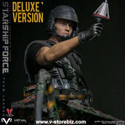 VTS Toys VM037DX Starship Force - Team Leader (Deluxe Version)