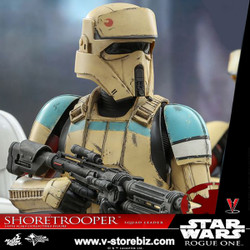 Hot Toys MMS592 Rogue One: A Star Wars Story Shoretrooper Squad Leader