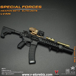 E&S 06027 Special Forces Weapon Set C Elite Units LVAW Set A