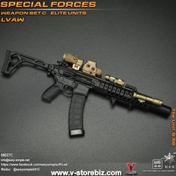E&S 06027 Special Forces Weapon Set C Elite Units LVAW Set C