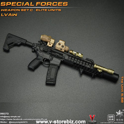 E&S 06027 Special Forces Weapon Set C Elite Units LVAW Set D