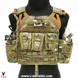 E&S 26041S S.A.D Field Raid Version Plate Carrier and Pouches