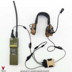 E&S 26041S S.A.D Field Raid Version Comtac 4 Headset & Radio