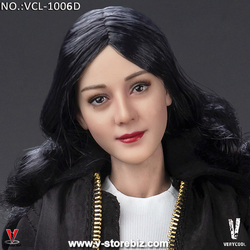 VeryCool VCL-1006D Female Headsculpture Long Hair