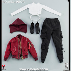 VeryCool VCL-1007A Red Jacket Clothing Set