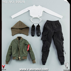 VeryCool VCL-1007B Green Jacket Clothing Set