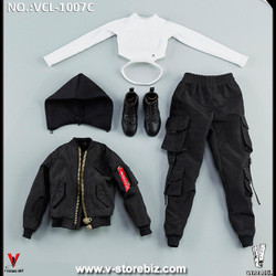 VeryCool VCL-1007C Black Jacket Clothing Set