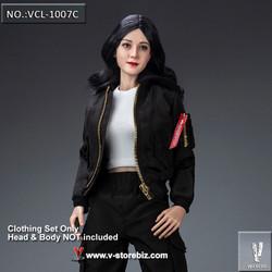 VeryCool VCL-1007C Black Jacket Clothing Set