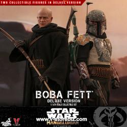 Hot Toys TMS034 Star Wars: The Mandalorian Boba Fett (Deluxe Version)