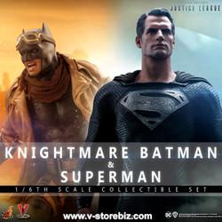 Hot Toys TMS038 Zack Snyder's Justice League : Knightmare Batman & Superman
