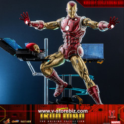 Hot Toys CMS08D38 Marvel Comics - Iron Man [The Origins Collection] (Deluxe Version)