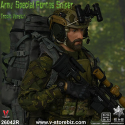 E&S 26042R Army Special Forces Sniper (Tropic Version)