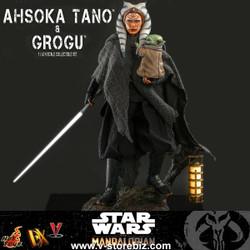 Hot Toys DX21 Star Wars: The Mandalorian - Ahsoka Tano & Grogu