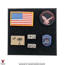 E&S 26040B SMU QRF Operator Part XI Patches