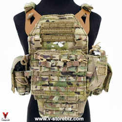 E&S 26040B SMU QRF Operator Part XI Jumpable Plate Carries & Pouches