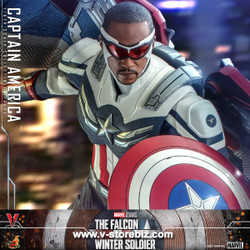 Hot Toys TMS040 The Falcon and the Winter Soldier Captain America
