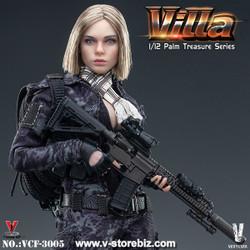 VERYCOOL VCF-3005 1/12 Black MC Camouflage Soldier : Villa