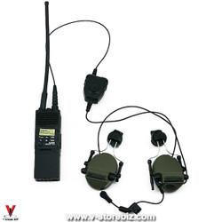 Mini Times M024 SWAT Officer MBITR Radio & Opsmen Earmor Headset