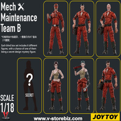 JOYTOY JT1194 Mech Maintenance Team B
