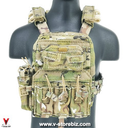 E&S 26040C SMU Tier 1 Operator XI QRF AVS Plate Carrier & Pouches