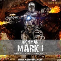 Hot Toys MMS605D40 Iron Man Mark I