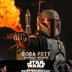 Hot Toys TMS055 Star Wars: The Mandalorian - Boba Fett (Repaint Armor)