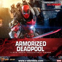Hot Toys CMS09D42 Armorized Warrior: Deadpool