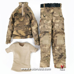 DAM DMS015 PLA Navy Marine Gunner Tong Li Female Uniform