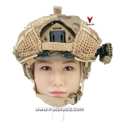 DAM DMS015 PLA Navy Marine Gunner Tong Li FAST Helmet (Female)