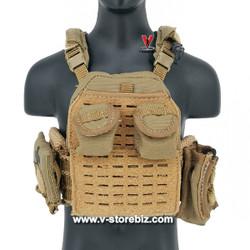 DAM DMS015 PLA Navy Marine Gunner Tong Li Plate Carrier Vest & Pouches
