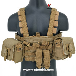 DAM DMS015 PLA Navy Marine Gunner Tong Li Chest Rig & Gunner Pouches