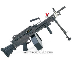 DAM DMS015 PLA Navy Marine Gunner Tong Li M249 Para Machine Gun