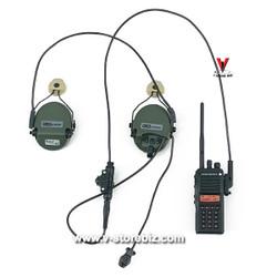 DAM DMS015 PLA Navy Marine Gunner Tong Li Radio & Headset