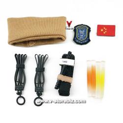 DAM DMS015 PLA Navy Marine Gunner Tong Li Accessories